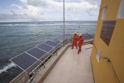 EVN tiếp nhận hệ thống điện trên đảo Trường Sa