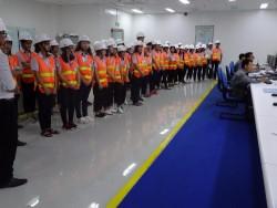Nhiệt điện Vĩnh Tân 2 đón đoàn học sinh tham quan thực tế