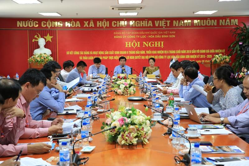 Đảng bộ BSR tổ chức hội nghị sơ kết 1