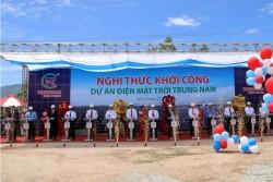 Khởi công dự án Nhà máy điện mặt trời Trung Nam