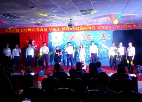 Nhiệt điện Thái Bình tổ chức Hội thi tiếng hát Người lao động 1