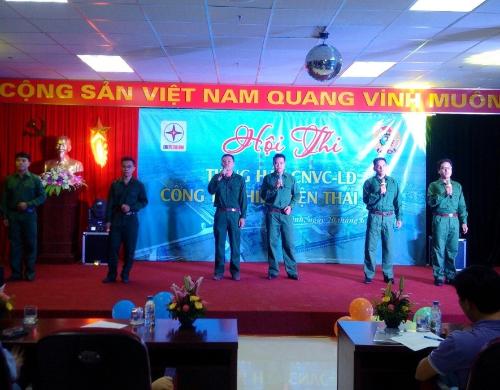 Nhiệt điện Thái Bình tổ chức Hội thi tiếng hát Người lao động 3