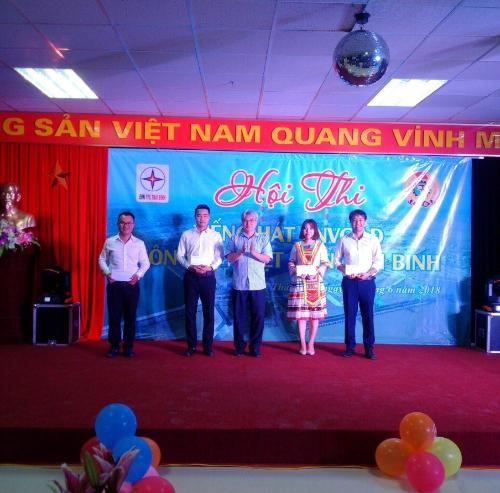 Nhiệt điện Thái Bình tổ chức Hội thi tiếng hát Người lao động 4