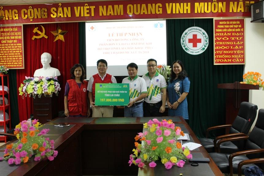 PVFCCo hỗ trợ người dân bị thiệt hại do thiên tai ở Lai Châu 1