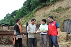 PVFCCo hỗ trợ người dân bị thiệt hại do thiên tai ở Lai Châu