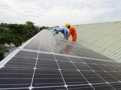 PC Bình Phước đưa vào sử dụng hệ thống điện mặt trời áp mái