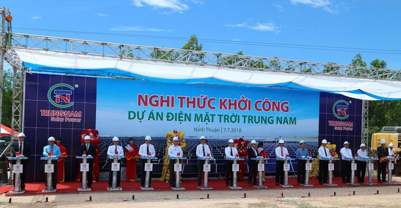Siemens cấp thiết bị cho dự án điện mặt trời Trung Nam 2