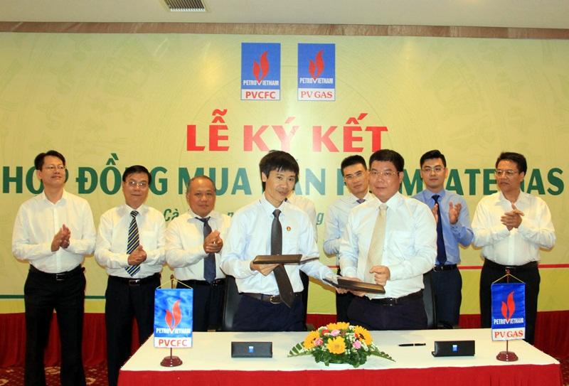 PV GAS và PVCFC ký hợp đồng mua bán khí permeate gas 1
