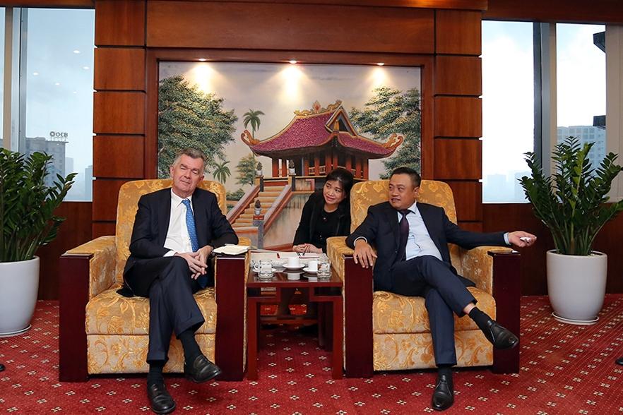 Ngân hàng SG là đối tác tài trợ các dự án lớn của PVN 1