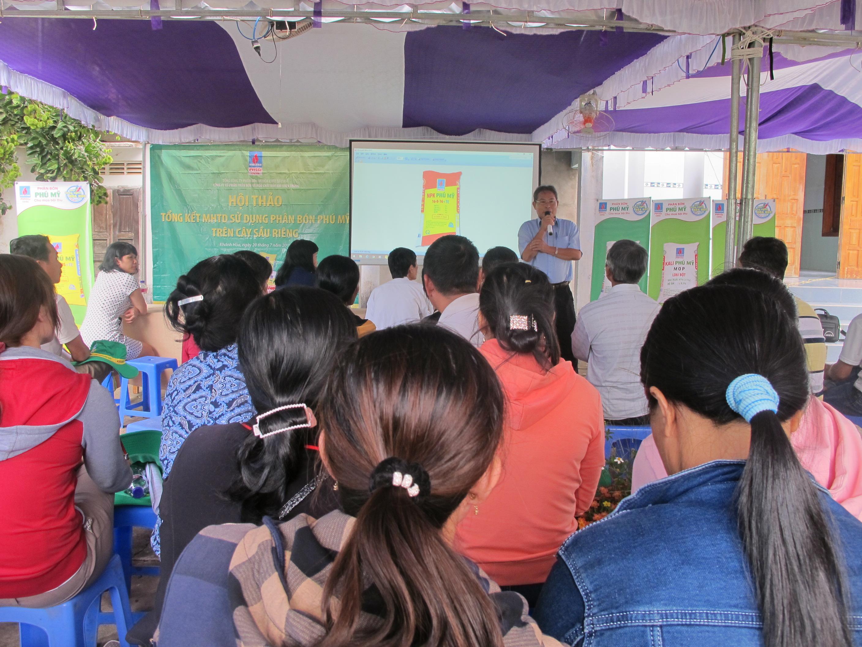 Phân bón Phú Mỹ giúp sầu riêng tại Khánh Sơn đạt năng suất cao 2