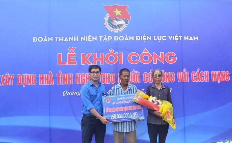 Đoàn Thanh niên EVN xây nhà tình nghĩa tại Quảng Bình 1