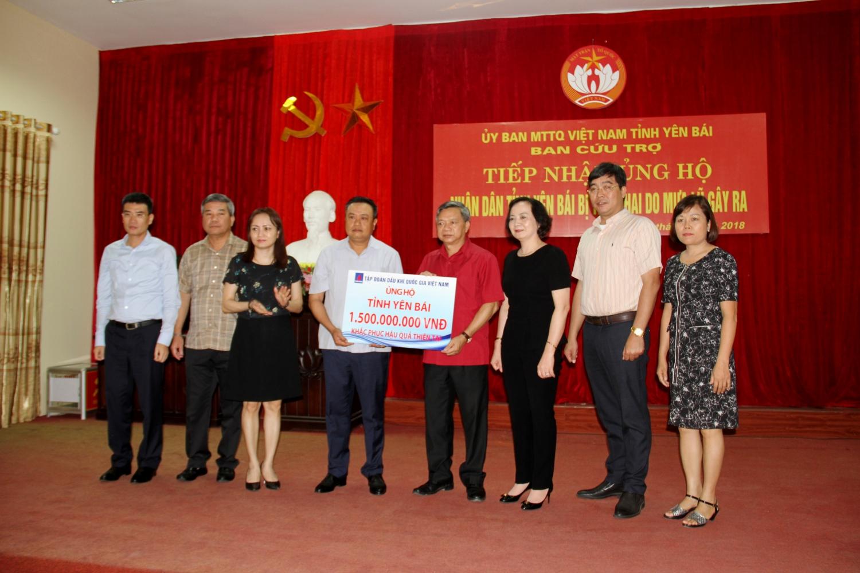 PVN chung tay hỗ trợ đồng bào bị lũ lụt ở Yên Bái 2