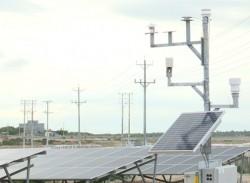 Nhà máy điện mặt trời Bàu Ngứ hoà lưới điện quốc gia