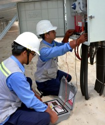 Inaugurating LIG – Quang Tri SPP