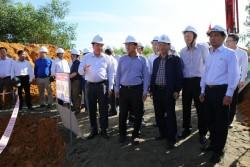Kiểm tra tiến độ thi công đường dây 500 kV Quảng Trạch - Dốc Sỏi