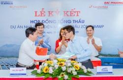 Ký hợp đồng tổng thầu dự án Nhà máy điện mặt trời Bầu Zôn