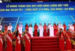 Khánh thành Nhà máy điện mặt trời Sao Mai Solar PV1 (giai đoạn 1)