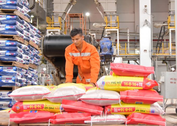 Nhà máy NPK Phú Mỹ sản xuất thành công nhiều công thức sản phẩm mới.