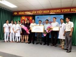 PV GAS  tài trợ thiết bị ý tế cho bệnh viện ở Cần Thơ