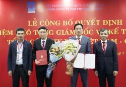 PV GAS trao quyết định bổ nhiệm Phó tổng giám đốc và Kế toán trưởng