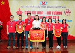 Quacontrol đạt thành tích cao trong giải đấu cờ phong trào của TKV