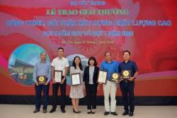 PECC1 dành 3 giải thưởng 'gói thầu xây dựng chất lượng cao'