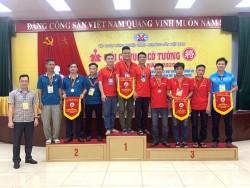Quacontrol đạt giải nhất Cờ Vua nam tại Giải Cờ Vua - Cờ Tướng TKV năm 2020