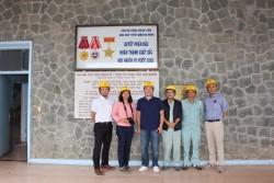 Trưởng đại diện JICA thăm dự án mở rộng Thuỷ điện Đa Nhim