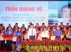 PV GAS có 2 đại diện được tuyên dương 'Người thợ trẻ giỏi' toàn quốc lần XI