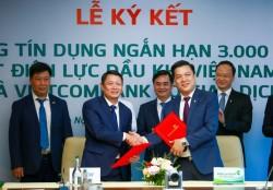 PV Power và Vietcombank ký hợp đồng tín dụng ngắn hạn 3.000 tỷ đồng