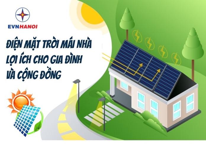 Người dân có thể 'bán điện' lại cho 'Nhà đèn' từ điện mặt trời trên mái nhà