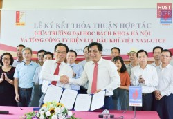 PV Power và Đại học Bách khoa Hà Nội ký thỏa thuận hợp tác