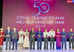 PV GAS trong Top '50 công ty kinh doanh hiệu quả nhất Việt Nam 2019'