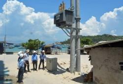 Chuẩn bị hoàn thành dự án cấp điện bằng cáp ngầm cho đảo Nhơn Châu