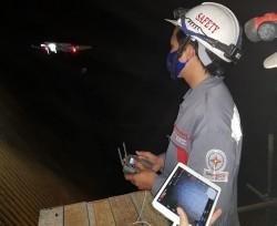 EPS ứng dụng thành công công nghệ kiểm tra đánh giá lò bằng Drone Inspection
