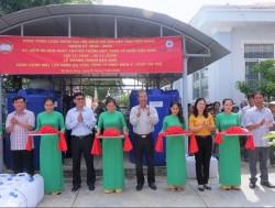 EVNGENCO 3 trao tặng 2 hệ thống lọc nước nhiễm mặn cho tỉnh Tiền Giang