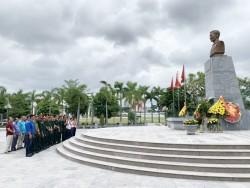 Quacontrol dâng hương tưởng niệm các anh hùng liệt sỹ