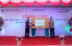 Khánh thành Trạm y tế xã Xuân Lũng (Phú Thọ) do PVFCCo tài trợ