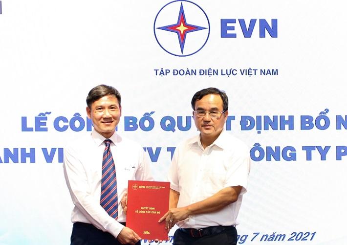 Công bố quyết định bổ nhiệm Thành viên HĐTV EVNGENCO 1
