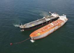 PVGAS Trading tiếp nhận thành công chuyến tàu LPG lạnh đầu tiên ở miền Bắc