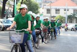 TP. HCM tổ chức tham gia đạp xe tuyên truyền tiết kiệm năng lượng