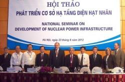 Chuẩn bị cơ sở hạ tầng Dự án điện hạt nhân Việt Nam