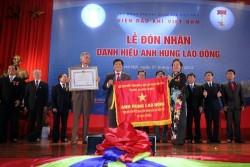 VPI đón nhận danh hiệu Anh hùng Lao động