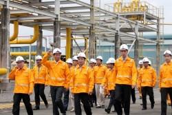 Phó tổng giám đốc PVN Nguyễn Quốc Thập làm việc với PV Gas