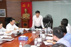 Chủ tịch PVN Nguyễn Xuân Sơn làm việc với PVC