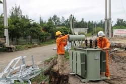 EVN NPC: Hơn 1,2 vạn khách hàng mất điện do mưa lũ