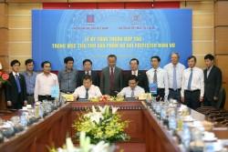 PVN và Vinatex thỏa thuận tiêu thụ xơ sợi polyester Đình Vũ