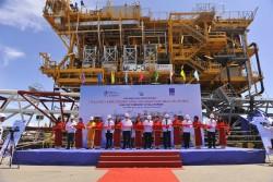 PTSC M&C hạ thủy giàn khai thác cho Tập đoàn Total