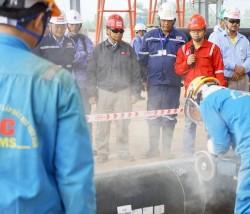 PVC-MS thi đua thực hiện gói thầu cơ khí LHD Nghi Sơn