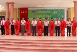 Bàn giao trường tiểu học do PVFCCo tài trợ tại Nam Định